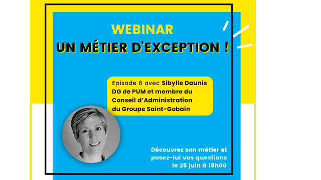 Webinar My Job Glasses - Métier d'Exception - Groupe Saint Gobain